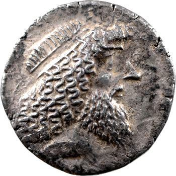 Characène, Attambelos II, tétradrachme, 30 av.-06 ap. J.-C.