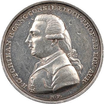 Finlande, hommage à Henrik Gabriel Porthan, par M. Frumerie, 1804