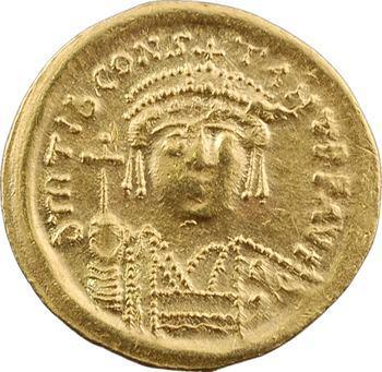 Tibère II Constantin, solidus, Constantinople, 8e officine, 578-582