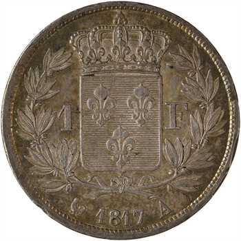 Louis XVIII, 1 franc, 1817 Paris