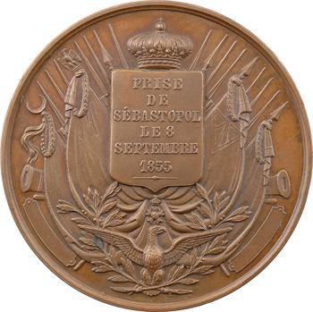 Russie/France, la prise de Sébastopol, 1855 Paris