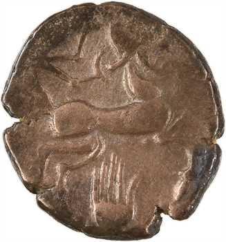 Pictons, statère d'or bas titre dit «à la main», c.80-50 av. J.-C.