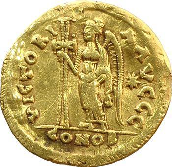 Basiliscus, solidus, Constantinople, 475-476