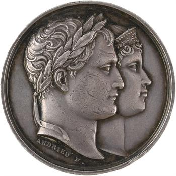 Premier Empire, naissance du Roi de Rome, par Andrieu, 1811 Paris