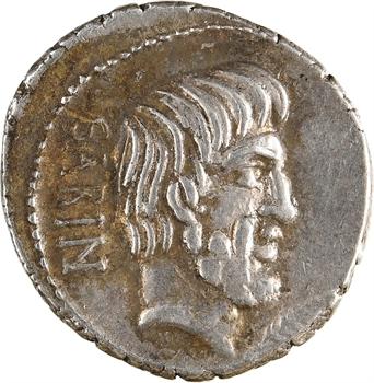 Tituria, denier, Rome, 89 av. J.-C