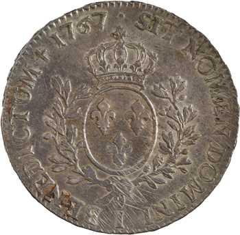 Louis XV, écu au bandeau, 1767 Limoges