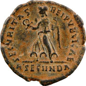 Valens, nummus, Rome, 364-367