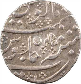 Indes françaises, Shah Alam II, roupie, AH 1220/45 (1805) Arcate