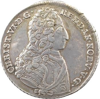 Danemark (royaume de), Christian VI, 4 mark (couronne), 1731 Copenhague