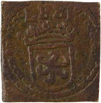 Louis XI et suite, poids monétaire de l'écu d'or au soleil, s.d. Anvers