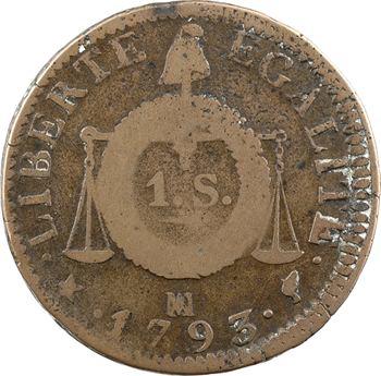 Convention, sol aux balances, 1793 Marseille