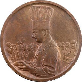 Bazor (L.) : le restaurant Roger, jeton ou médaille publicitaire, s.d. Paris