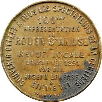 Rouen : les Folies Bergère, 1892 Paris