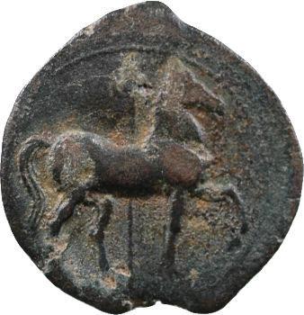 Zeugitane, Carthage, moyen bronze, IVe-IIIe s. av. J.-C.