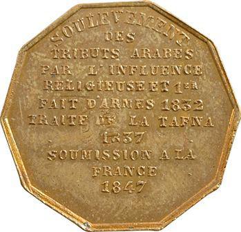 Algérie, soumission d'Abd-el-Kader à la France, 1847 Paris
