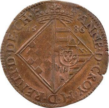Pays-Bas méridionaux, Flandre, Emmanuel de Lalaing et Anne de Croy, 1586