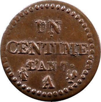 Directoire, un centime Dupré, an 7 Paris