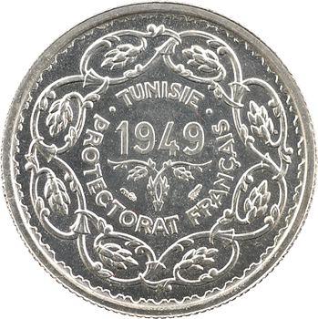 Tunisie (Protectorat français), Mohamed Lamine, 10 francs, 1949 Paris
