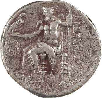 Macédoine, Alexandre le Grand, tétradrachme, Sidé (Pamphylie), c.325-320 av. J.-C