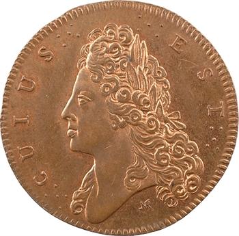 Angleterre, James III, tentative d'invasion de l'Angleterre, par Norbert Roëttiers, 1708