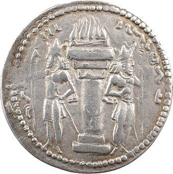 Royaume Sassanide, Sapor Ier, drachme, 241-272