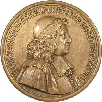 Jacques Charlet et l'église d'Esbly (77) par A. Regnard, 1692