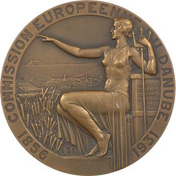 Bazor (L.) : Commission Européenne du Danube, inauguration des digues de Sulina (Roumanie), 1931 Paris