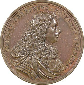 Bourbon (Louis II de), Prince de Condé, 1668 (frappe postérieure) Paris