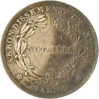 Reims, notaires de Reims, 1824 (refrappe 1845-1860) Paris