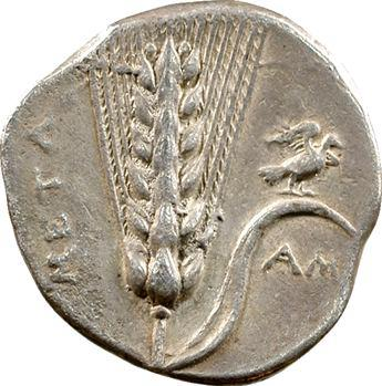 Lucanie, statère, Métaponte, c.350-330 av. J.-C.