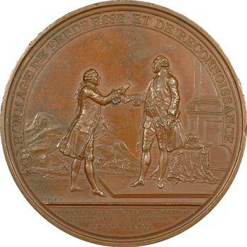 Louis XVI, les mines d'Allemont par Dupré, 1786 Paris