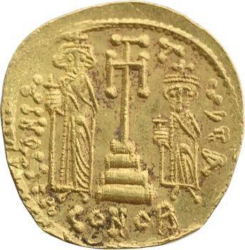 Constant II, solidus, Constantinople, c.661-663