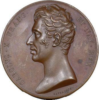 Charles X, maintien de la Charte, 1824 Paris