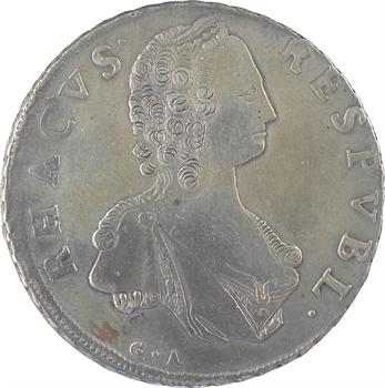 Croatie, Raguse (République de), libertina de 2 ducats, 1794 Raguse
