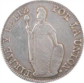 Pérou (République du), 8 réaux, 1841 Lima