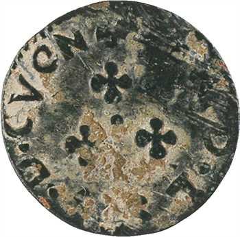 Cugnon (principauté de), Ferdinand-Charles, denier tournois 8e type, s.d. Cugnon