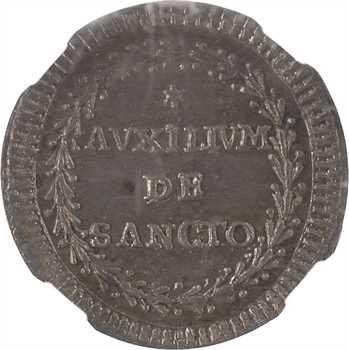 Vatican, Pie VI, grosso, An X (1784) Rome, NGC MS66