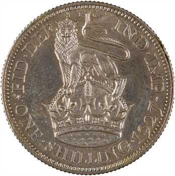 Royaume-Uni, Georges V, shilling, 1927 Londres PROOFLIKE