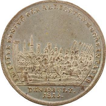 Premier Empire, Blücher et Wellington, 2e entrée des alliés dans Paris, juillet 1815