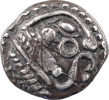 Bellovaques, quart de statère en argent à l'astre, c.80-50 av. J.-C