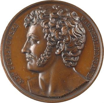 Premier Empire, le maréchal Poniatowski, par Caunois s.d. (1813) Paris