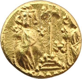 Constantin IV, solidus, Carthage, 680-681