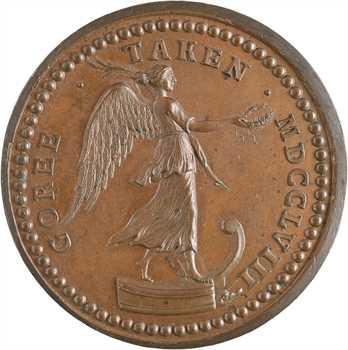 Royaume-Uni/France, Georges II, la prise de Gorée, par Pingo, 1758