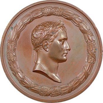 Louis XVIII, la mort de Napoléon à Sainte Hélène, par Andrieu, 1821 Paris