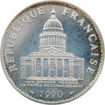 Ve République, 100 francs Panthéon, 1990 Pessac