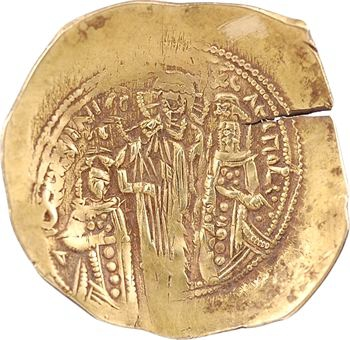 Andronicus II et Michel IX, hyperpyron, Constantinople, 1295-1320