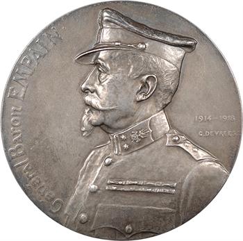 Belgique, Général Baron Empain, par Devreese, 1918