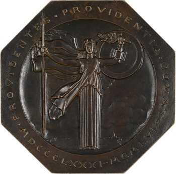Turin (P.) : 75e anniversaire des assurances La Providence, fonte vide-poche, 1881-1956 Paris
