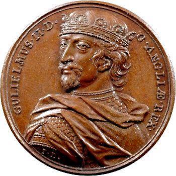Angleterre, série des Rois par Jean Dassier, Guillaume II, s.d. (c.1731-1732)