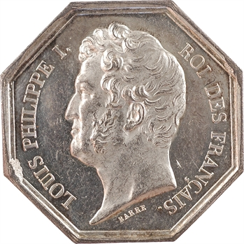 Louis-Philippe Ier, Direction Générale des Points et Chaussées et Mines, par Barre, s.d. Paris